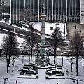 Queen City Winter Wonderland After The Storm Series 0026 by Michael Frank Jr