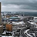Queen City Winter Wonderland After The Storm Series 006 by Michael Frank Jr
