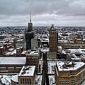 Queen City Winter Wonderland After The Storm Series 007 by Michael Frank Jr