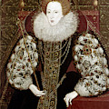 Queen Elizabeth I (1533-1603) by Granger