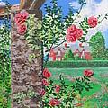 Queen Gardens In Belfast by Svetlana Troitskaia