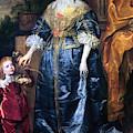Queen Henrietta Maria (1609-69) by Granger