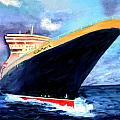 Queen Mary 2 by Donna Walsh