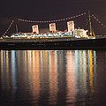 Queen Mary Decked Out For The Holidays by Heidi Smith