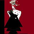 Queen Of Hearts by Ann Calvo
