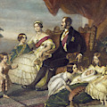 Queen Victoria & Family by Granger