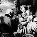 Queen Victoria & Son by Granger