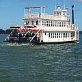 Queen Victoria Ferry by Anne Cameron Cutri