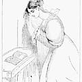 Queen Victoria Sketch by Granger