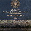 Queen's Campus - Commemorative Plaque by Allen Beatty