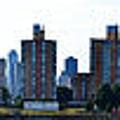 Queensboro Bridge / Roosevelt Island Panorama by Louis Romero