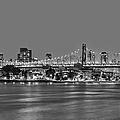 Queensboro Bridge 59th Street Nyc Bw by Susan Candelario