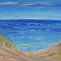 Quick Seascape 1 by Barbara McDevitt