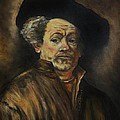 Quick Study Of Rembrandt by Stefon Marc Brown