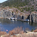 Quidi Vidi Fishing Stages by Barbara Griffin