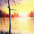 Quiet Evening By The River by Nirdesha Munasinghe