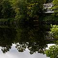 Quiet Lake In The Berkshires by Kathleen Odenthal