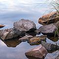 Quiet Morning. Ladoga Lake by Jenny Rainbow