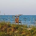 Quiet On The Beach by Cynthia Guinn