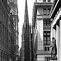 Quiet Sunday On Wall Street by Underwood Archives