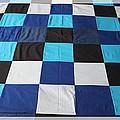 Quilt Blue Blocks by Barbara Griffin