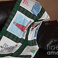 Quilt Newfoundland Tartan Green Posts by Barbara Griffin