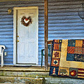 Quilt On The Front Porch by Kathy Jennings