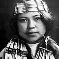 Quinault Indian Girl Circa 1913 by Aged Pixel