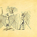 Quinby Flying Apparatus Patent Art 1867  by Ian Monk