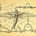 Quinby Flying Apparatus Patent Art 1872 by Ian Monk
