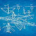 Quinby Flying Machine Patent Art 1869 Blueprint by Ian Monk