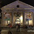 Quincy Market At Night by Juli Scalzi