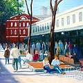 Quincy Market by Frank Quinn