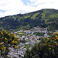 Quito From El Panecillo by Kurt Van Wagner