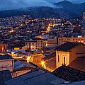 Quito Old Town At Night by Jess Kraft