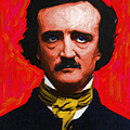 Quoth The Raven Nevermore - Edgar Allan Poe - Painterly by Wingsdomain Art and Photography