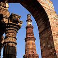 Qutab Minar  by Aidan Moran