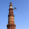 Qutab Minar Minaret - New Delhi - India by Aidan Moran