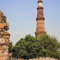 Qutub Minar by David Davis