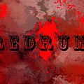 R E D R U M - Featured In Visions Of The Night Group by Ericamaxine Price