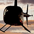 R44 At Sunset by Paul Job