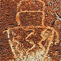 Shaman Petroglyph C by David Lee Thompson