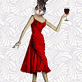 Rabbit In A Red Dress by Kelly McLaughlan