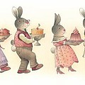 Rabbit Marcus The Great 11 by Kestutis Kasparavicius