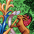 Rabbit Plays The Flute by Genevieve Esson