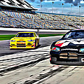 Race Car Track View by Alice Gipson