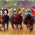 Race To The Finish Line by Ted Azriel