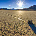 Racetrack Playa Sunset by Craig Voth
