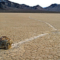 Racetrack Sailing Rocks Death Valley National Park by Ed  Riche