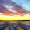 Racing Home Before The Sun Sets by Linda Rae Cuthbertson
